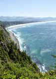 Nehalem beach from Oswald west state park Oregon Stock Photography