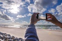 Nehmen des Fotos Lizenzfreies Stockfoto