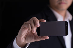 Nehmen des Fotos mit intelligentem Telefon lizenzfreie stockbilder