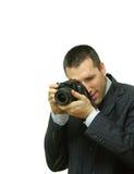 Nehmen eines Fotos Lizenzfreies Stockbild