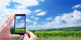 Nehmen eines Fotos Lizenzfreies Stockfoto