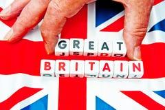 Nehmen groß aus Großbritannien heraus Stockfotos