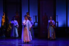 Nehmen Sie an der Religion-zurück zu den Palast-modernen Drama Kaiserinnen im Palast teil Stockfotografie