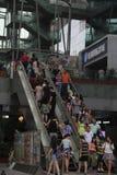 Nehmen Sie die Aufzugskunden in SHENZHEN Lizenzfreies Stockfoto