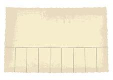 Nehmen Sie eine Papiermarke Lizenzfreie Stockfotografie