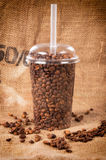 Nehmen Sie Kaffee weg Stockfotos