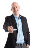 Nehmen Sie meine Karte Lizenzfreie Stockbilder