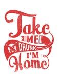 Nehmen Sie mich betrunken Stockfotos
