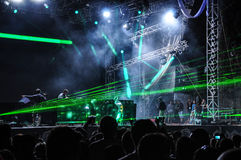 NEHMEN Sie Musikfestival 2013 heraus lizenzfreie stockfotografie