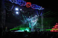 NEHMEN Sie Musikfestival 2013 heraus stockbild