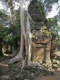 Nehmen Sie Prohm-Tempel Stockfotografie