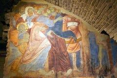 Nehmen von Christus, Siena, Italien Stockfotografie