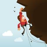 Nehmen von Gefahr und von harter Arbeit Lizenzfreie Stockfotos