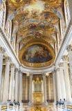 Nei corridoi del palazzo di Versailles fotografia stock libera da diritti