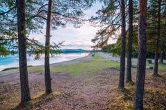 Nei Urals del Nord fotografia stock