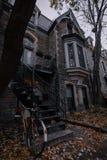 Neiborhood in Montreal stock foto's