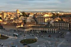 Neiborhood van El Salvador in Segovia royalty-vrije stock foto's