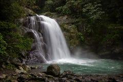 Neidong Waterfall in Wulai, Taiwan Stock Photography