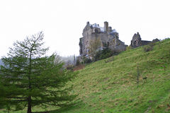 Neidpath castle 1 Royalty Free Stock Images