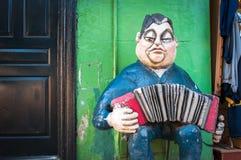 Neigborhood di Boca della La, Buenos Aires, Argentina Fotografia Stock