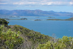 Neigbouring islands Noumea city New Caledonia Stock Photos
