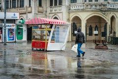 Neige à Istanbul, Turquie Images stock