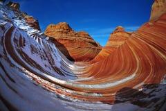 Neige à la vague, Arizona Images libres de droits