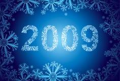 neige 2009 Image stock