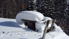 neige photos stock