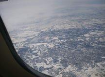 Neige aérienne Photographie stock libre de droits