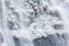 Neige aux automnes de Fukuroda photographie stock libre de droits