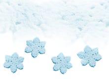 Neige Background Flocons de neige Image stock