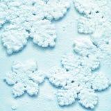 Neige Background Flocons de neige Photo stock