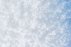 Neige Background Neige bleue de scintillement Images stock