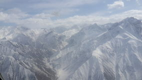 Neige blanche Photo libre de droits