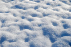 neige bleue Images stock