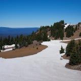 Neige d'été Photographie stock libre de droits