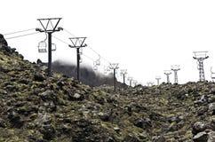 Neige de attente Quelque part en Nouvelle Zélande Photo libre de droits