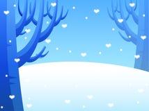 neige de chassoirs Photo libre de droits