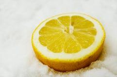 neige de citron Photographie stock
