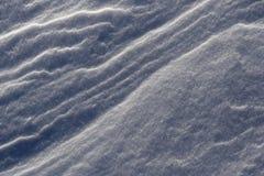 Neige de dérive Photographie stock libre de droits