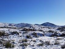 Neige de désert photographie stock
