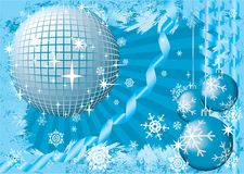 neige de fête de Noël Image stock