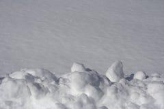 neige de fond Photographie stock