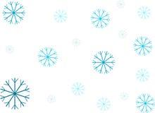 neige de fond Photo libre de droits