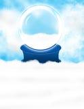 neige de globe illustration de vecteur