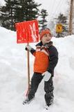 neige de jour Photo stock