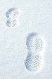 neige de marchepieds Images stock