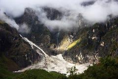 neige de montagne Images libres de droits