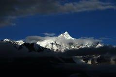 neige de montagne de meili Images libres de droits